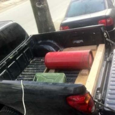 Установили защитную роллету на кузов пикапа в Симферополе 01