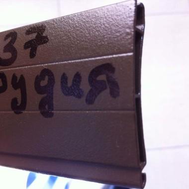 Пример профиля, из которого мы собираем защитные роллеты 33
