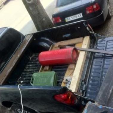 Установили защитную роллету на кузов пикапа в Симферополе 06