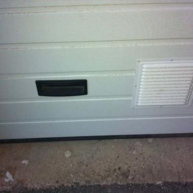 Секционные ворота в подземном паркинге в Гурзуфе 05