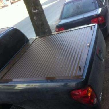 Установили защитную роллету на кузов пикапа в Симферополе 12