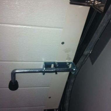 Секционные ворота в подземном паркинге в Гурзуфе 15