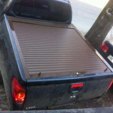 Установили защитную роллету на кузов пикапа в Симферополе 13
