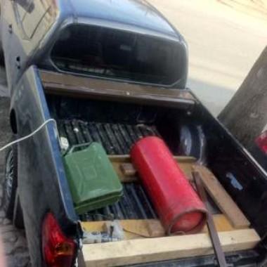 Установили защитную роллету на кузов пикапа в Симферополе 05