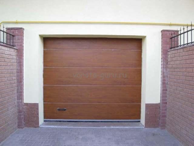 «Алютех» — гаражные секционные автоматические ворота. Цена оправдана комфортом!