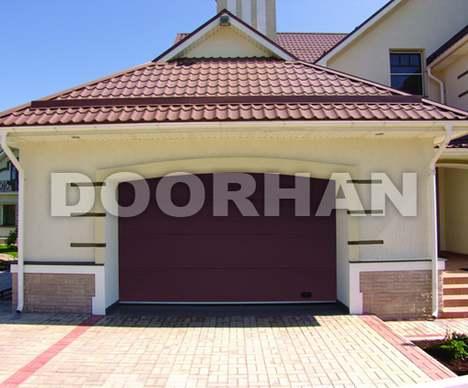 «DoorHan» — гаражные секционные ворота: автоматические, с ручным управлением