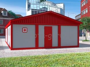 Модульные здания для нужд Министерства здравоохранения: ФАПы, врачебные амбулатории и пр.