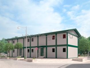 Модульные здания для нужд Министерства обороны