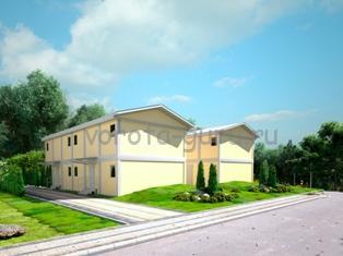 Модульные здания для вахтовых поселений