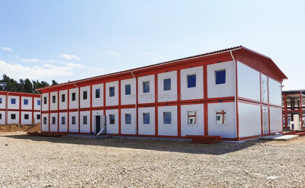 Модульное здание ДорХан в Крыму