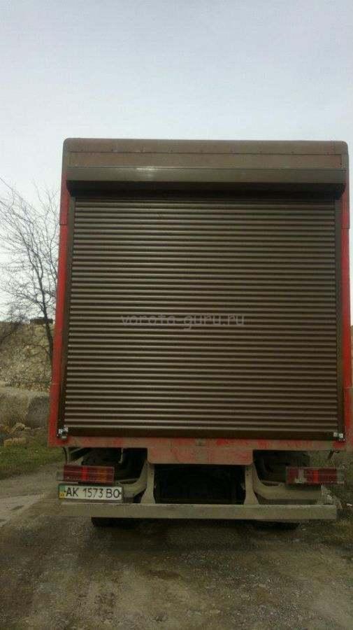 Роллеты на грузовые автомобили Крым. Купить ролеты на гараж в Симферополе