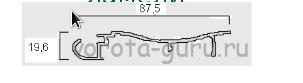 Ламели перголы Frigerio серии Ondula